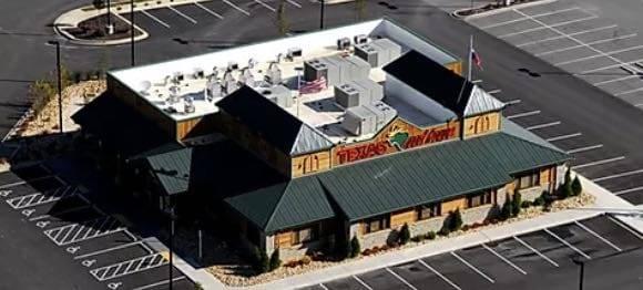 Texas roadhouse restaurant construction company